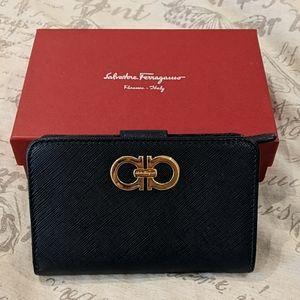 Salvatore Ferragamo Navy Wallet